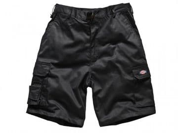 Redhawk Cargo Shorts Black Waist 32in